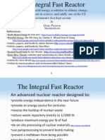 The Integral Fast Reactor