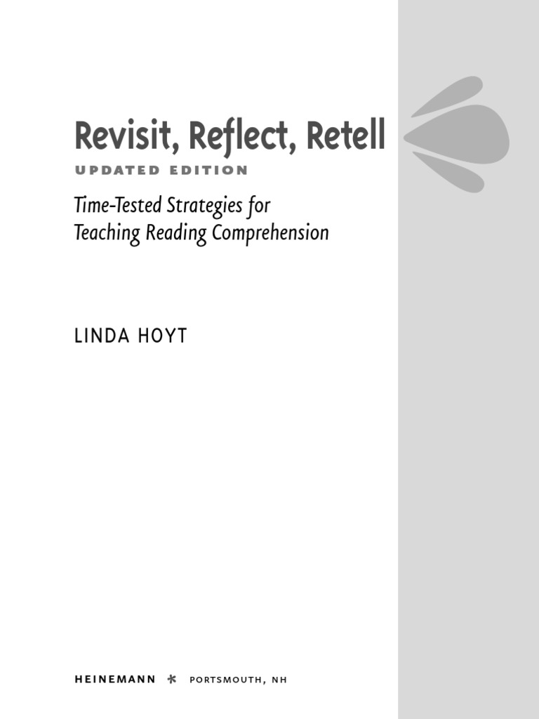 Revisit reflect retell reading comprehension reading process ibookread ePUb