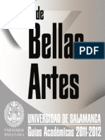 Facultad de Bellas Artes 2011-2012