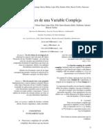 Metodos Matematicos Para Ingenieros(Funciones de Una Variable Compleja)