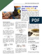 Detecteur Microondes F6ICS v1