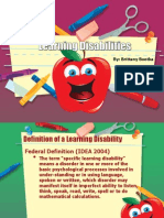 learning disabilities 2
