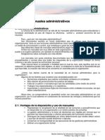 3 Manuales administrativos