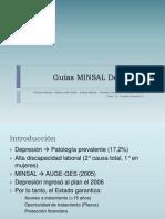 Guías MINSAL Depresión