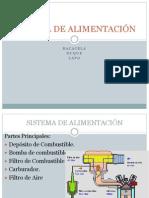 SISTEMA DE ALIMENTACIÓN