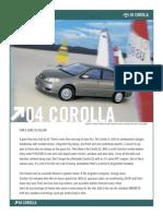 04 Corolla