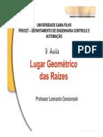 Unidade 9 - Lugar Geometrico Das Raizes