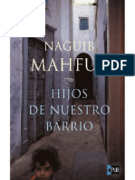 Hijos de Nuestro Barrio Naguib Mahfuz