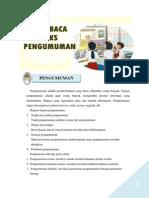 Bahasa Indonesia SD Kelas IV Semester 2
