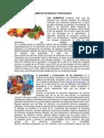 Alimentos Naturales y Procesados