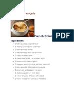 Cuisine Français