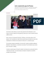 casamento GAY na França