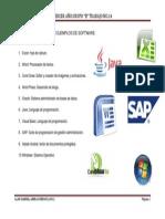 T14 10 Ejemplos de Software