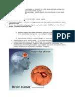 Brain Cancer (Tumor)