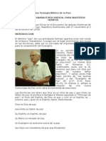 Una Teología Bíblica de la Paz (Juan Driver)