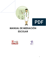 MANUAL DE MEDIACIÓN ESCOLAR