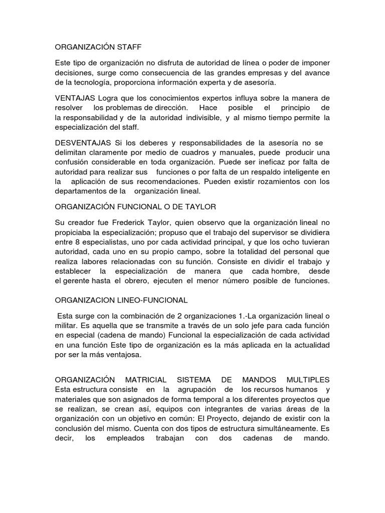 Organización Docx