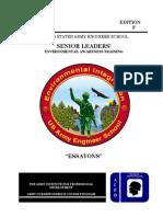 2008 Us Army Senior Leader's Environmental Awareness Training 107p