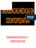 Emergencias y Urgencias en Odontopediatria