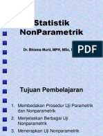Statistik Non-Parametrik_Dr Bhisma