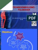 Tromboembolismo Pulmonar Dr. Palma