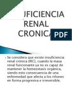 Insuficiencia Renal Cronica Pediatrica