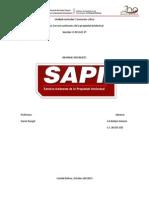 Informe Del Sapi
