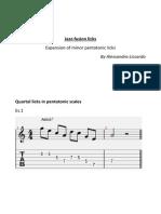 Jazz Fusion+Licks +Pentatonic+Expansion
