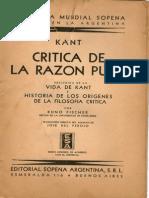 Vida de Kant Por Kuno Fisher