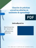 Movilización de prácticas educativas abiertas semana 4
