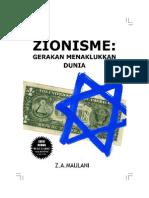 Zionisme Gerakan Menaklukan Dunia
