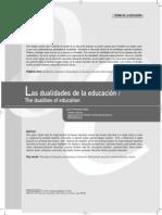 DUALIDADES EDUCACIÓN SELLÉS