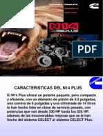 Características del motor N14 Plus