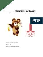 Juegos Olímpicos de Moscú