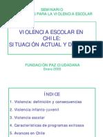Violencia Escolar en Chile Situacion Actual Desafios