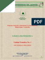 LOGICA Unidad 1 Periodo II-2013 Jass