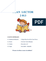 Proyecto Plan Lector 2013