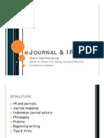 Journal & IR