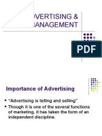 Advertising & Sales Management