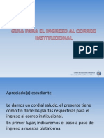 Guia de Ingreso Al Correo Institucional