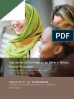 Narratives of Conversion Report
