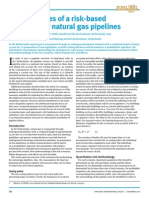Premium Digest December 2010 Consequences of a Risk-based Approach for Natural Gas Pipelines