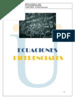 MODULO Ecuaciones Diferenciales 2013-2