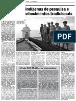 Experiências indígenas de pesquisa e registro de conhecimentos tradicionais