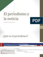 Tema 01. El Periodismo y La Noticia