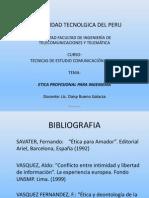 Etica profesional para Ingeniería