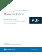 Resources FUTURES Report December 2012 Summary
