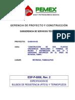ESP-P-6066 PEMEX