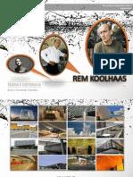 Presentacion Rem Koolhaas