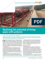 Premium Digest December 2010 Realising the Potential of Lining Pipes With Polymer